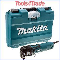 Makita TM3010CK Oscillating Multi-Tool Tool-Less Access. Quick Change Blade 240V
