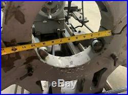 Mazak 30x120 Gap Bed Engine Lathe 4 Jaw Chuck Travel Dial Quick Change Tool Post