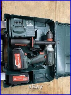 Metabo SB18LTX Quick 18v 2x5.2Ah LiHD Quick-change Chuck Impact Drill