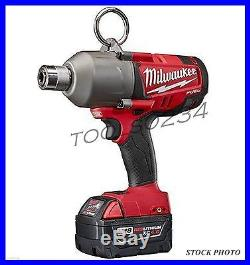 Milwaukee 2765-22 M18 FUEL 7/16 Hex High Torque Impact Wrench Kit Quick Change