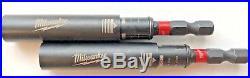 Milwaukee Magnetic Bit Tip Holder Finder Guide Driver SHOCKWAVE 48-32-4508 TwoPc