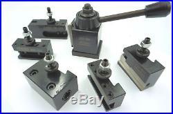 Mini Wedge Type Quick Change Toolpost Set (Ref 50053000) For Mini Lathe etc
