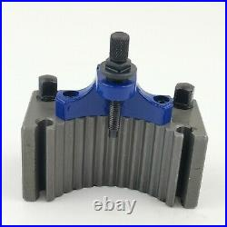 Multifix 40 Position Quick Change Tool Post A1 With 4 PCS AD1675 Turning Holders