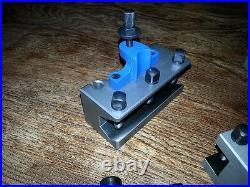 Myford Lathe = 40 Position Professional Multifix type Quick Change Tool Post Kit