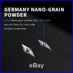NAGU 10200 Shark Pro 4pcs Carbide Turning Tools with Quick Change Handle
