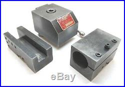 NICE! KDK 300 SERIES QUICK CHANGE LATHE TOOL POST with 2 HOLDERS 24 SWING & UP