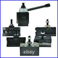 New Shars 10 15 Lathe BXA Piston Quick Change Tool Post Set 250-200 CNC USA