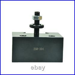 New Shars 13-18 Lathe CXA Piston Quick Change Tool Post Set 250-300