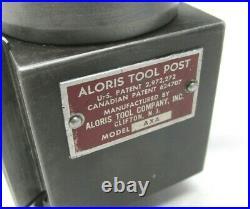 Nice! Aloris Axa Series Quick Change Lathe Tool Post Up To 12 Swing