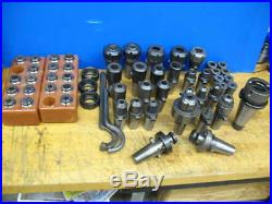 Nmtb-50 To Kwik-switch 300 Tooling Package, Endmill Holders, Collet Chucks, Clts