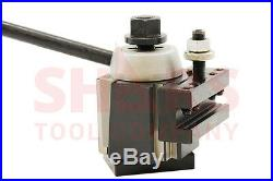 OUT OF STOCK 90 DAYS Shars 6-12 CNC Lathe AXA Wedge Quick Change Tool Post Set