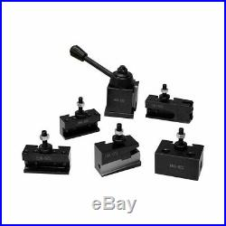 OXA Wedge Type Quick Change Tool Post Set CNC #000 For Lathe Up To 8 Inch