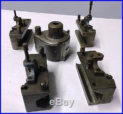 Original Multifix Type B Quick Change Tool post Lathe Tool Holder Set Germany
