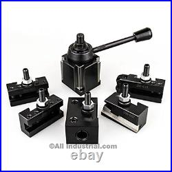 Oxa Tool Post Set 6-9 Swing Mini Quick Change Cnc Lathe Holder 0xa Wedge