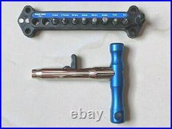 Park Tool QTH-1 Quick Change Magnetic Bit Driver Set & 8 Bits Hex Torx Phillips