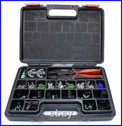 Pertronix T3005 220 Piece Quick-Change Crimping Tool Kit with Case