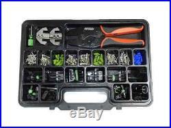 Pertronix T-3005 Quick Change 216-pc Ratchet Crimp Tool/connect Kit Plastic Case