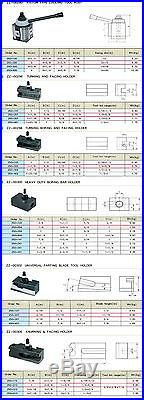 Piston Type Quick Change Tool Post Set 250-200 Series for 10-15 Lathe Machine