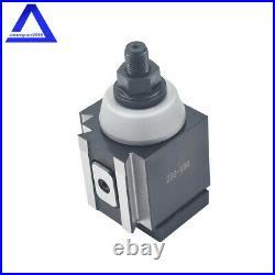 Piston Type Quick Change Tool Post Set for Lathe 6- 12 AXA Size 250-100 Set