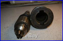 Quick Change Tool Holder #40 NMTB MH40U-T35 with BIG J35-6 and Jacobs Chuck
