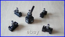 Quick Change Tool Post For Axminster Model C0 Micro Lathe