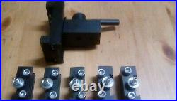Quick Change Tool Post For Hobbymat MD65 Lathe