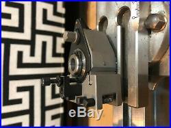 Quick Change Tool Post For Schaublin 70 Watchmaker Lathe Uhrmacher Drehbank