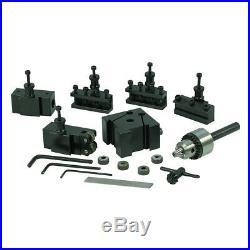 Quick Change Tool Post Set for Mini Lathe Mini Metal Lathe Central Machinery