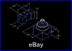 Quick Change Tool Post for Unimat Lathe DB200 /SL1000