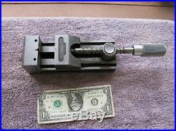 Quick change machinist toolmaker vise 2 7/8 capacity tool