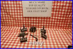 Quick change tool post 4 Myford 10 and Speed 10 lathes We Do Not Ship To France