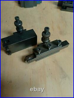 Quick change tool post and extra tooling for Central Machinery mini lathe