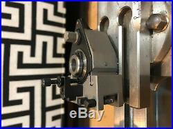 Quick change tool post for watchmaker lathe schaublin 70 1Xpost 6Xholder