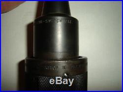 R8 Bridgeport Tool Holder Kwik-Switch II 200 Quick Change Master Mill Machinist