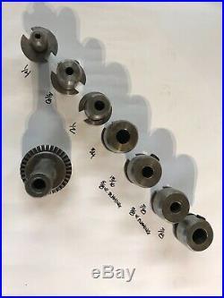 R8 Quick Change Tool Holder Set Bridgeport Brand set 2