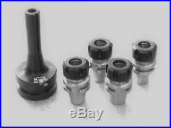 R8 Quick Change Tooling with Low profile ER25 Collet Adapters Bridgeport tools