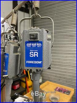 Rio Grande Series SR Foredom 18,000 RPM Flex Shaft Rotary Tool Quick Change