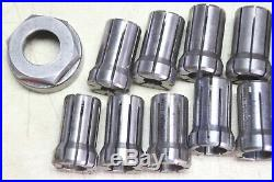 Royal Easy Change R8 Quick Change Tool Holder 4 Collet Holders and 15 Collets