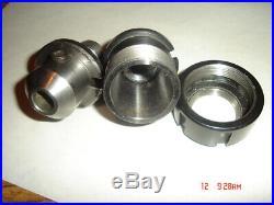 Royal Easy Quick Change ER32 & 1/2 Collet Holders Bridgeport Machinist R8 Tool