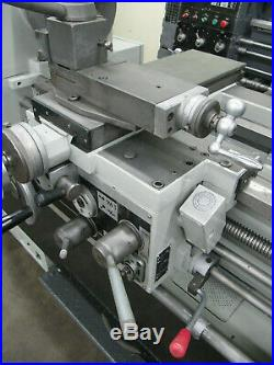 SHARP 16 x 40 Manual Engine Lathe 9 Chuck Quick Change Tool Post, Steady Rest