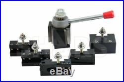 SHARS 10-15 BXA CNC Lathe Quick Change Tool Post Set NEW