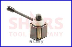 SHARS 14-20 Lathe CA Wedge Type Quick Change Tool Post CNC 250-444 New