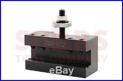 SHARS 17-48 Lathe DA Wedge Type Quick Change Tool Post CNC 250-555 6 pc set New
