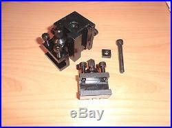 Schnellwechselstahlhalter f. EMCO Unimat 3 +4+ PC 2 Halter quick change holder