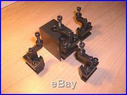 Schnellwechselstahlhalter neu f. Drehmaschine C1 quick change holder