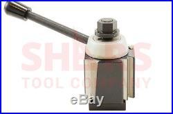 Shars 13-18 CNC Lathe CXA Wedge Quick Change Tool Post Set 250-333 Aloris New