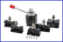 Shars 6 12 Cnc Lathe Axa Wedge Quick Change Tool Post Set 250-111 Aloris New