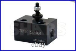 Shars Up to 8 CNC Lathe OXA Wedge Type Quick Change Tool Post Set 250-000 NewA