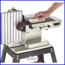 Shop Fox W1717 1/3 H. P. Horizontal/Vertical Sander with Quick-Change Belt