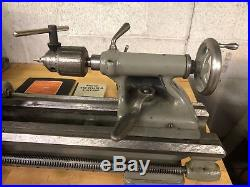 South Bend 9 Model A Lathe With KDK Quick Change Tool Post Holder Tooling